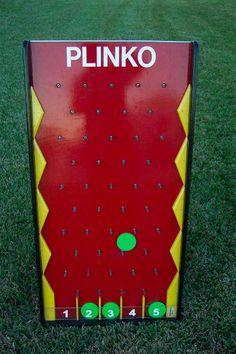 Plinko board ! takes up very little space!