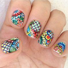 Resultado de imagen para talavera nails