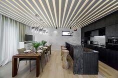 Fedisa Kitchen Layout And Design House Design, Dining Table, Kitchen, Interior, Kitchen Design, Cool Kitchens, Best Kitchen Designs, Kitchen Layout, Home Decor