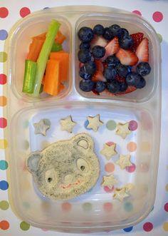 Bears and Stars Lunch @Kelly Teske Goldsworthy Lester / EasyLunchboxes @CuteZcute