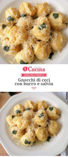 Gnocchi di ceci con burro e salvia della nostra utente Magdalena. Unisciti alla nostra Community ed invia le tue ricette!