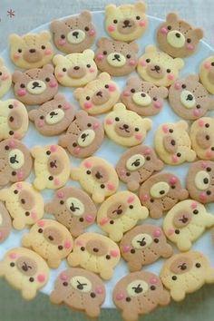 * くまサン クッキー * by らぷぅ [クックパッド] 簡単おいしいみんなのレシピが164万品