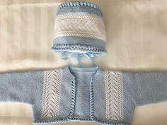 CHAQUETA Y GORRO en Mis Manitas | DIY Blog de Manualidades y Reciclaje Couture, Baby Knitting, Knitted Hats, Diy Crafts, Inspiration, Blog, Lana, Ideas, Fashion