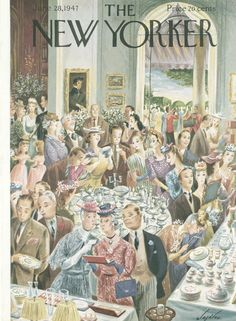 The New Yorker - Saturday, June 28, 1947 - Issue # 1167 - Vol. 23 - N° 19 - Cover  by Constantin Alajalov