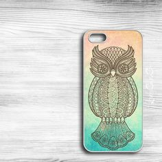 Owl iPhone Case - iPhone 4 Case, iPhone 4s Case, or iPhone 5 Case Cool Cell Phone Case