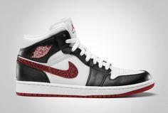 Air Jordan 1 Phat White/Varsity Red