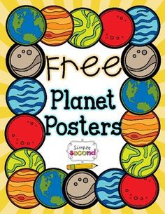 This freebie includes a poster for each planet.   It's a very small part of my HUGE Solar System unit found here.  This document © Caitlin Hynst All rights reserved by author. Permission to copy to one classroom only.  Check out my blog for more ideas!