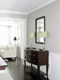Benjamin Moore Revere Pewter again- cotton grey is supposed to be dupe BEHR