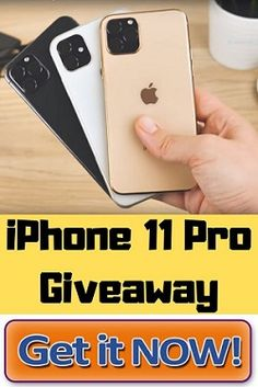 iPhone 11 Pro Free Giveaway – Enter to win a brand new iPhone 11 Pro! Get your chance to win a brand new iPhone 11 Pro for free with this giveaway. Get it now, Don't miss this chance. Iphone 3gs, Iphone Camera, Iphone Macbook, Pro Camera, Diy Outfits, Get Free Iphone, Iphone 7 Plus, Free Iphone Giveaway, Simple Signs