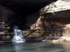 Lost Valley, NW Arkansas. Caves, rock outcroppings, waterfalls. God should win an architecture award for this place.