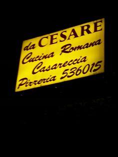 Da Cesare in Roma, Lazio
