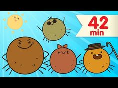Itsy Bitsy Spider + More | Nursery Rhymes | Super Simple Songs - YouTube