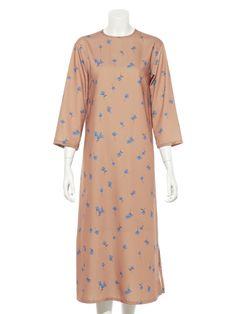 花柄ワンピース(膝丈ワンピース)|Mila Owen(ミラ オーウェン)|ファッション通販|ウサギオンライン公式通販サイト