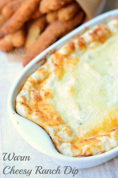 Warm Cheesy Ranch Dip #MealsTogether - Will Cook For Smiles