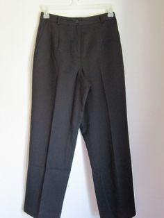 Apple Seed's Petites Black Slacks Size 10P NWT Super nice! #AppleSeedsPetites #DressPants   50% OFF SALE GOING ON NOW!