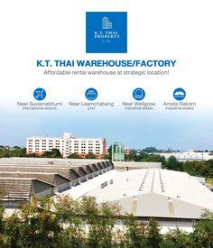 Bangna Warehouse โรงงาน โกดัง ให้เช่า คลังสินค้า ให้เช่า ใกล้สุวรรณภูมิ ท่าเรือแหลมฉบัง นิคม อมตะนคร ไม่ไกลจากกรุงเทพ Storage For Rent, Warehouse Project, Suvarnabhumi Airport, Next Us, Flood Zone, International Airport, Car Parking, Thailand