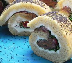 Iberico Pork and Cream Cheese Roulade