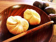 川上屋の栗きんとん Garlic, Dairy, Cheese, Vegetables, Recipes, Food, Meal, Food Recipes, Essen