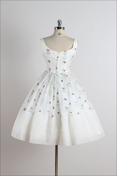 Fred Perlberg . vintage 1950s dress . vintage by millstreetvintage