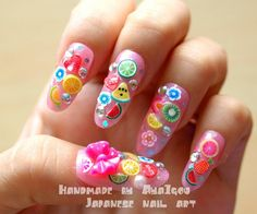 Fruity Gyaru Nails,