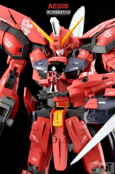 MG 1/100 GAT-X303 Aegis Gundam Modeled by knightmare CLICK HERE TO VIEW FULL POST...
