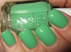 Essie Mojito Madness ~ dang it!  Another color I envy now