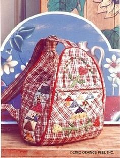 Master class from FLAMINGO. Discussion on LiveInternet - Russian Service Online Diaries Patchwork Bags, Quilted Bag, Mochila Tutorial, Backpack Tutorial, Diy Sac, Diy Bags Purses, Craft Bags, Fabric Bags, Cotton Bag