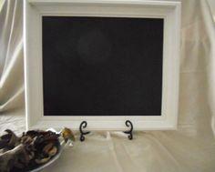Chalk board chalkboard black board slate by PegsSecondChance, $25.00