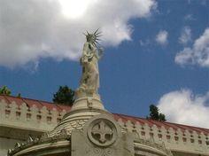 Ponciano Ponzano. Estatua de la libertad en el Panteón de Hombres Ilustres. Madrid.