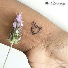 Coffee lover tattoo