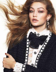 Gigi Hadid by Mert Alas and Marcus Piggott for Vogue Paris March 2016 1