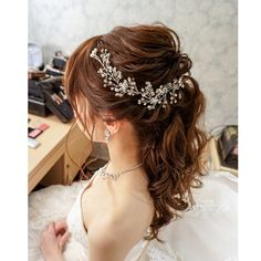 いいね!145件、コメント1件 ― rie ogura(kato)さん(@rie.yy)のInstagramアカウント: 「・ ・ 今日の花嫁さま⁎⁎ 披露宴からの#ポニーテール お似合いでした✨✨ ・ ・ #ブライダルヘアメイク#ブライダルヘア…」