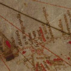 [Carte marine de l'océan Atlantique Nord-Est, de la mer Baltique, de la mer Méditerranée et de la mer Noire, accompagnée d'une mappemonde circulaire]