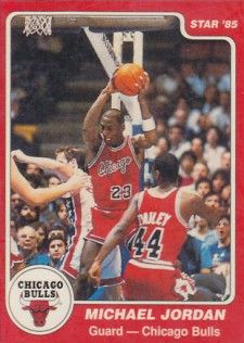 1984-85 Star Michael Jordan XRC