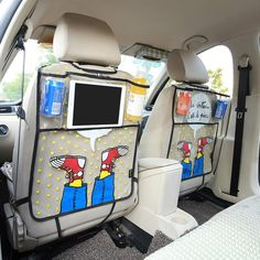 Catoon Shoes Styling Car Back Seat Protector  #New #Hot #Sale #Discount #Trend #Buy