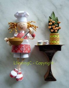 Chef - Quilled Creations Quilling Gallery