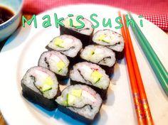 Maki Sushi hecho en casa