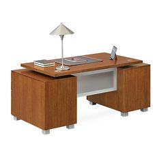 Santa Clara Double Pedestal Executive Desk