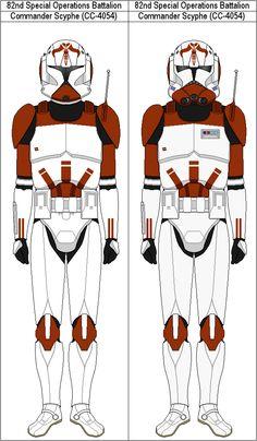 Commander Scyphe CC-4054 by MarcusStarkiller on DeviantArt