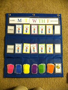 This is a good chore chart that I think even I can incorporate for the kids. Good Behavior Chart, Behaviour Chart, Teaching Kids, Kids Learning, Prize Box, Responsibility Chart, Cheap Toys, Charts For Kids, Therapy Tools