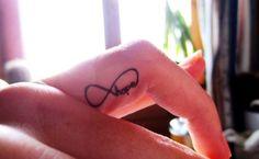 Infinity Finger Tattoo Tumblr