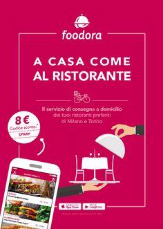foodora simple flyer /w phone app
