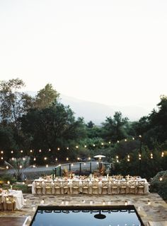 An Anthropologie style wedding with quirky details, a signature emblem, vivid colors and lush floral design in Ojai, California.