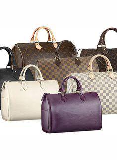 How to spot a fake Louis Vuitton handbag.