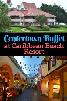 Centertown Buffet Is A NEW Quick Service Offered To Guests At Caribbean Beach Resort