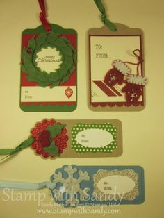 Winter Wishes Gift Tags