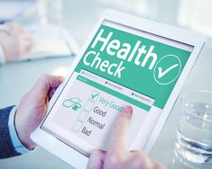 Digital Health Check Healthcare Concept Stock Photo (Edit Now) 225278212 Workplace Wellness, Check Up, Bones And Muscles, Digital Tablet, Restoration Services, Medical News, Science, Wellness Programs, Chiropractic