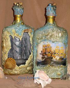 морские бутылки - Поиск в Google