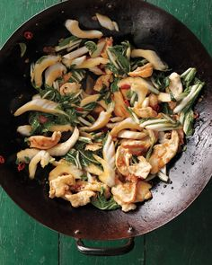 Stir-Fried Chicken with Bok Choy - Martha Stewart Recipes