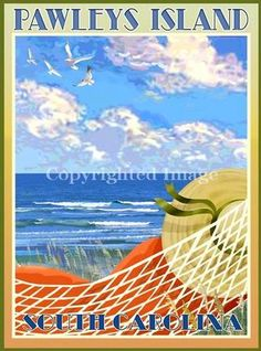 1000 Images About Pawleys Island South Carolina On Pinterest Islands Poster And Retro Art
